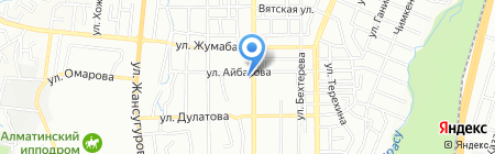 Эксима KZ ТОО на карте Алматы