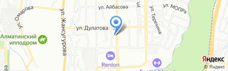 Фортуна продовольственный магазин на карте Алматы