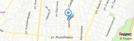 ALM на карте Алматы