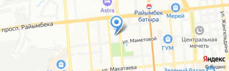 Ihlas Print на карте Алматы