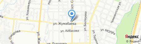 Pegas на карте Алматы