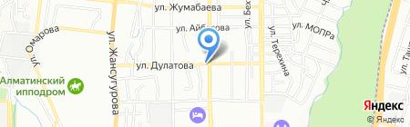 Турсун на карте Алматы
