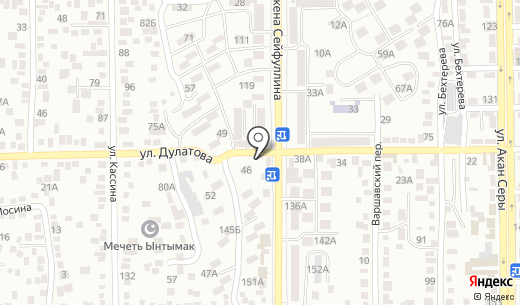 Турсун. Схема проезда в Алматы
