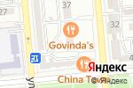 Схема проезда до компании Govinda`s в Алматы