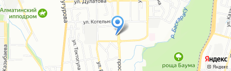 Ласковые руки на карте Алматы