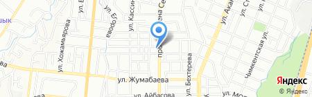 Ирина продовольственный магазин на карте Алматы
