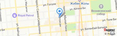 Технопарк-2030 на карте Алматы