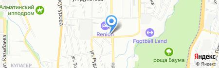Fides Exchange на карте Алматы