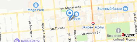 Akzhol Travel на карте Алматы