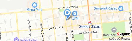 Original Jeans на карте Алматы