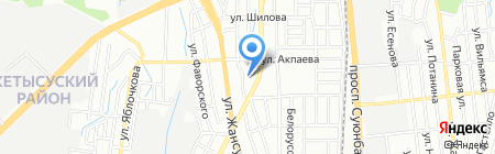 Ясли-сад №94 на карте Алматы