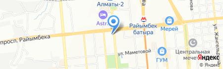 Люкс Ломбард на карте Алматы