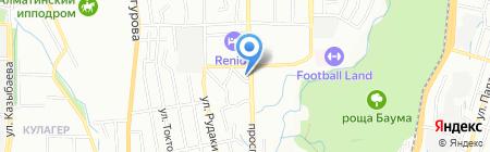 Дебют на карте Алматы