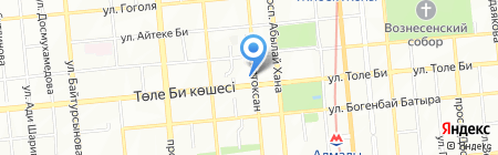 Жами на карте Алматы