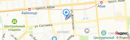 Школа-гимназия №23 на карте Алматы