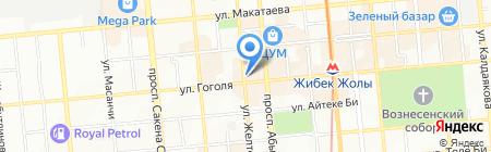 Pek-A-Boo на карте Алматы