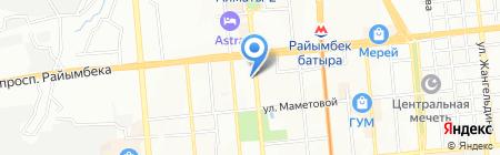 Дом серебра на карте Алматы