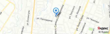 Sun City Media на карте Алматы