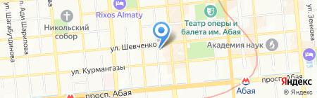 Гунны на карте Алматы
