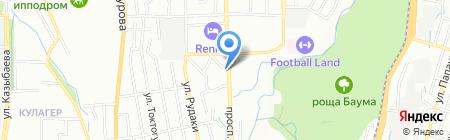 Nika на карте Алматы