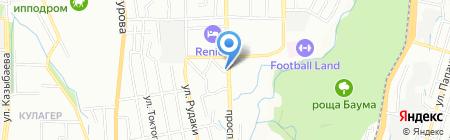 Мастерская по ремонту обуви на проспекте Сейфуллина на карте Алматы