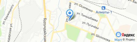 Ясли-сад №65 на карте Алматы