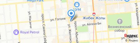 ШЕГА-ТАС бюро переводов на карте Алматы