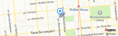 Yoga Travel на карте Алматы