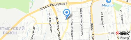 Pivot Point на карте Алматы