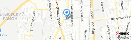 Казахский НИИ лесного хозяйства и агромелиорации на карте Алматы