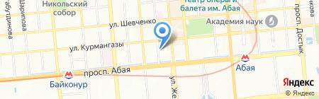 Veles Spirits на карте Алматы