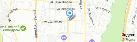Тумарис на карте Алматы