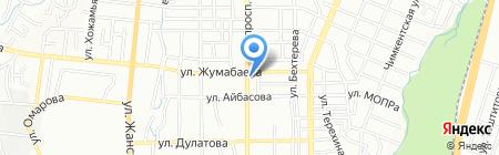 Алтын шаш на карте Алматы