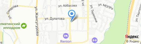 Senseasia на карте Алматы