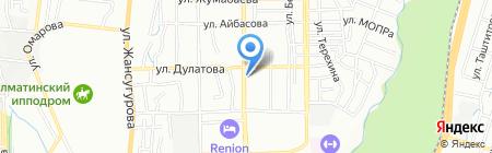 RUS BES на карте Алматы
