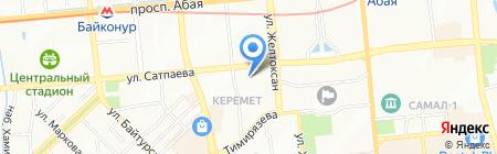 Ассоциация высших учебных заведений Республики Казахстан на карте Алматы