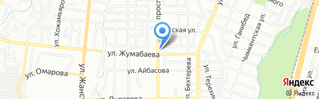 Халида на карте Алматы