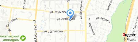Денсаулык на карте Алматы
