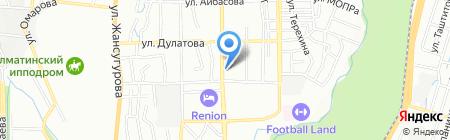 АЛТЭКС на карте Алматы