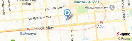 Duman на карте Алматы
