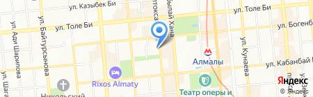 Moonlight на карте Алматы