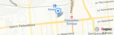STravel на карте Алматы