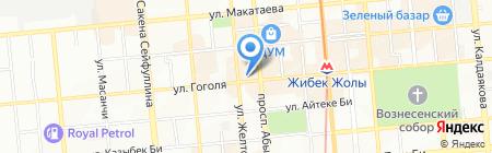JAFF на карте Алматы