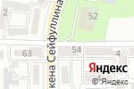Схема проезда до компании Шугла в Алматы