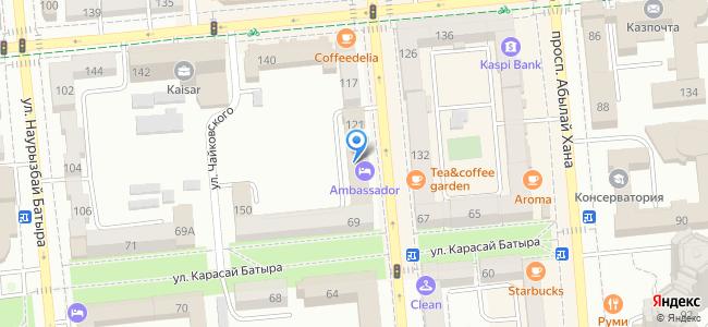улица Желтоксан, 121