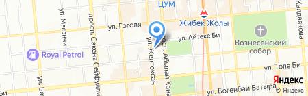 Лечебно-диагностический центр на карте Алматы