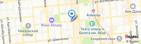 BLACK BERRY на карте Алматы
