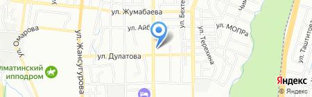 Жеке-Фарм на карте Алматы