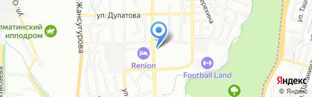Beautiful на карте Алматы