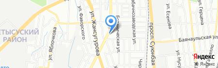 Участковый пункт полиции №63 Жетысуского района на карте Алматы